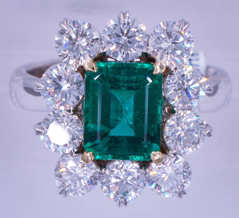 2 06 Carat Untreated Emerald