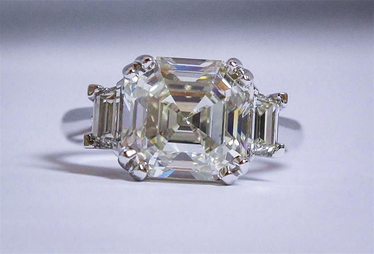 5 Carat Asscher Cut Diamond