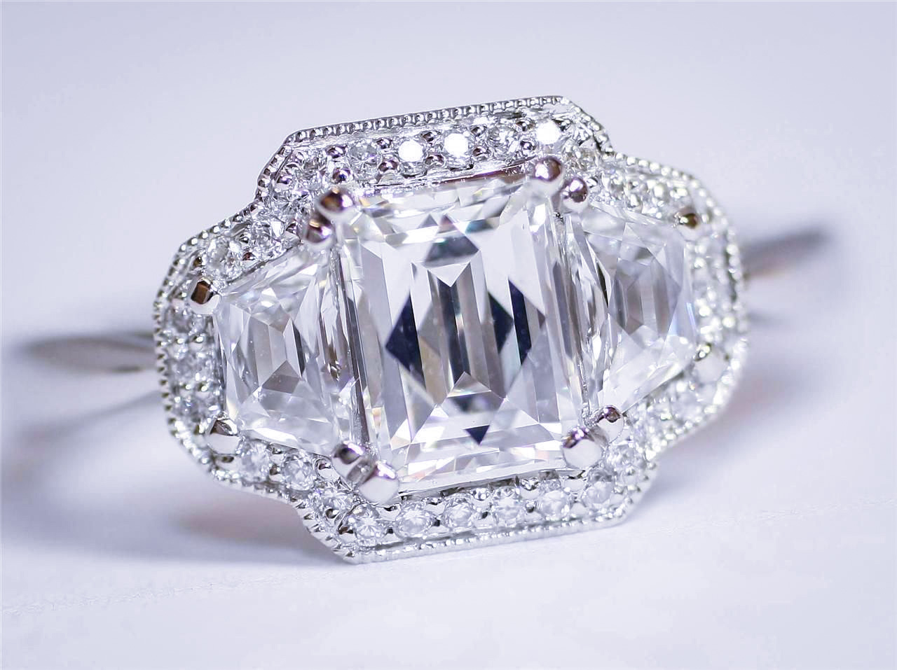 Ty Cut Diamond Ring Antique