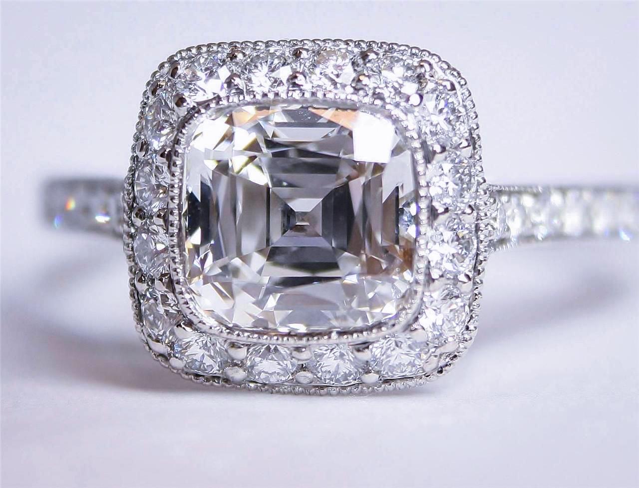 3 Carat Tiffany Diamond Ring